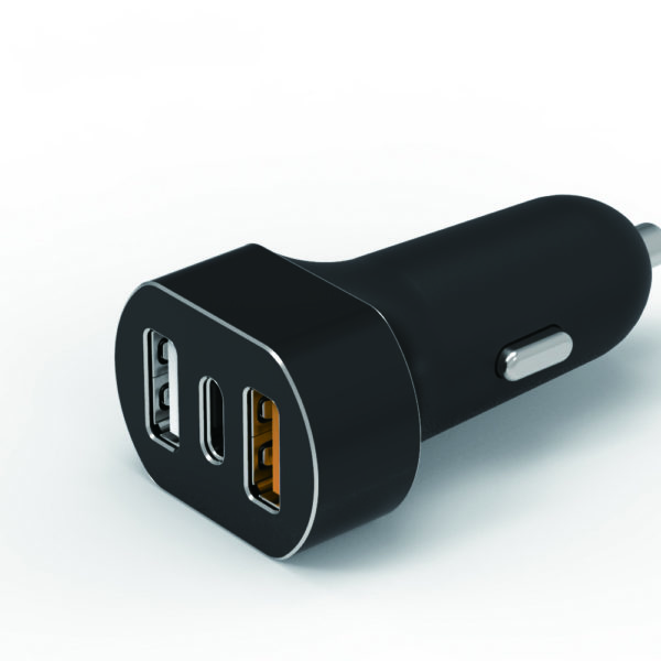 QC3.0 3 ports usb car charger